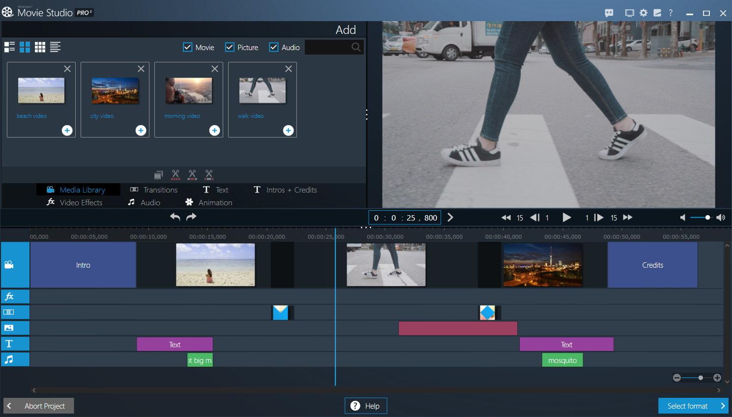 Movie Studio Pro 3