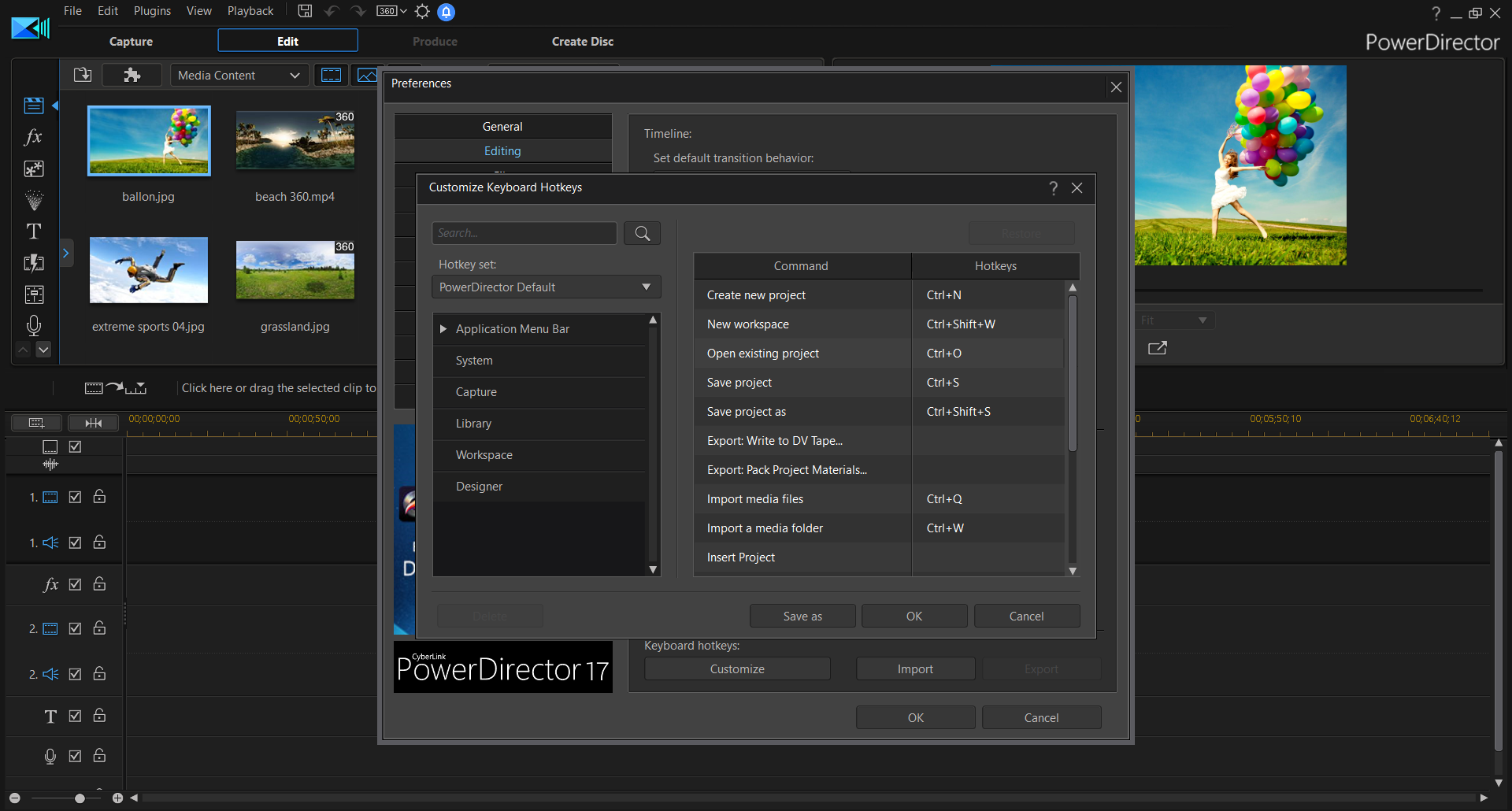 Powerdirector 17
