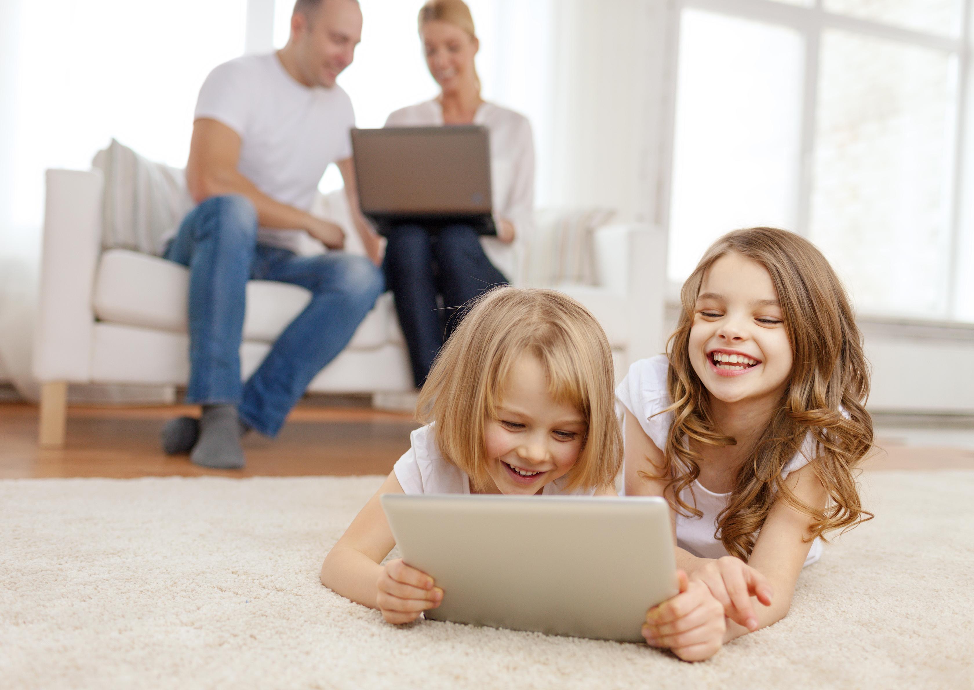 Děti u PC