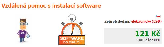 Vzdálená technická podpora s instalací programu