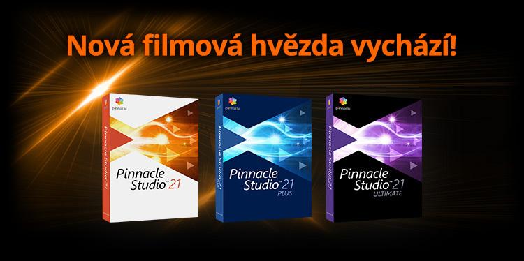 Pinnacle Studio 21 - program pro střih a úpravu videa