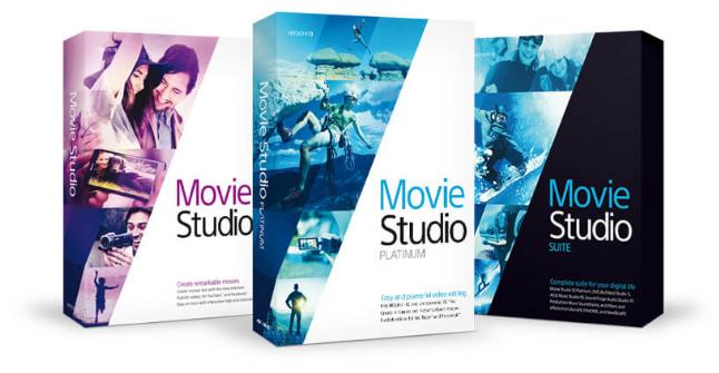 Chci Movie Studio pro střih a úpravu videa